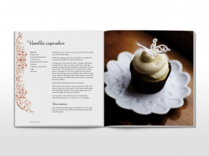 Divine Cupcakes cookbook spread