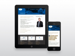 Inder Lynch Lawyers responsive website design