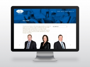 Inder Lynch Lawyers website design