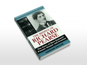 The Riddle of Richard Pearse book cover