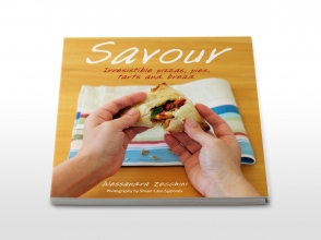 Savour cookbook cover