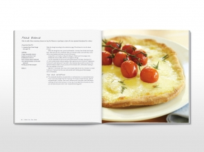 Savour cookbook spread