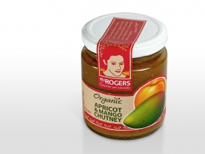 Mrs Rogers chutney packaging