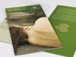 Nature's Beauty thermal mud brochure