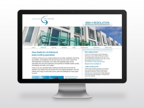 Resolution Architecture website