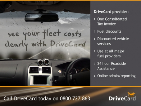 DriveCard press advert