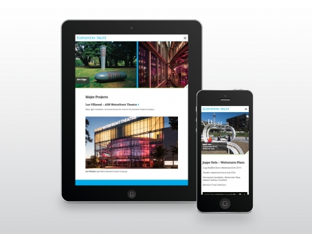 Edmiston Trust responsive website design