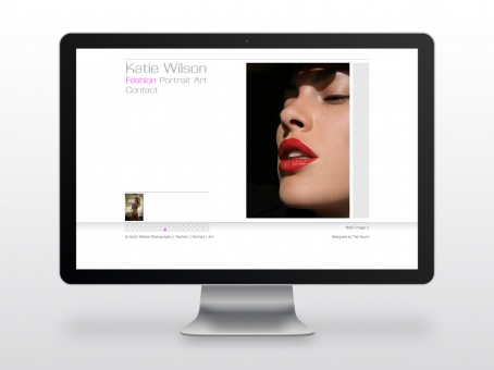 Katie Wilson Photography website