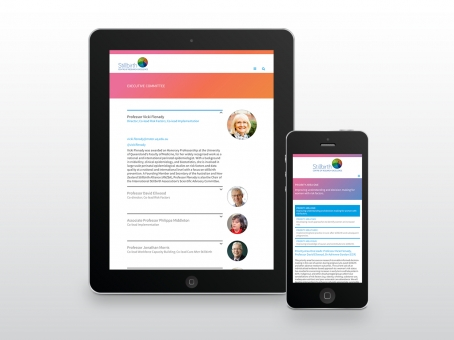 Stillbirth CRE responsive website design