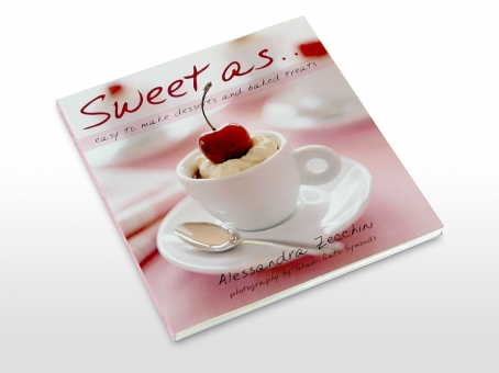 Sweet as … cookbook cover