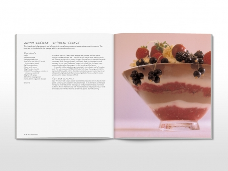 Sweet as … cookbook spread