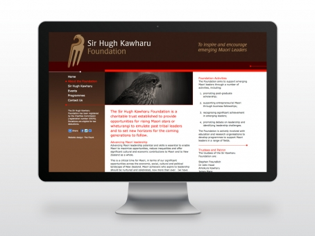 Kawharu Foundation website