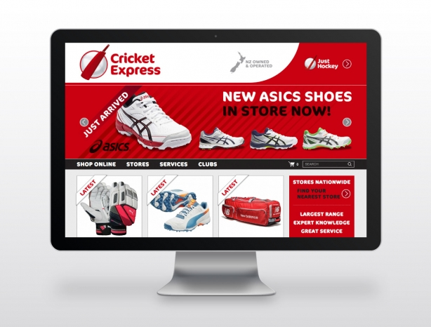 Cricket Express ecommerce website