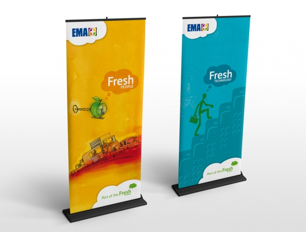 Fresh Network display banners