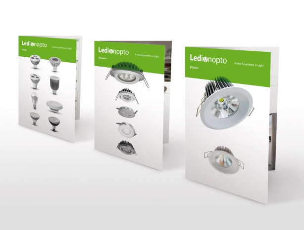 Ledionopto product sales brochures