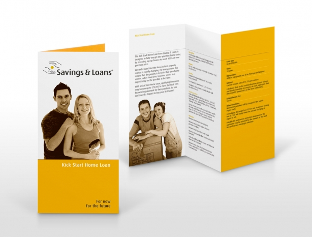 Savings & Loans product brochure